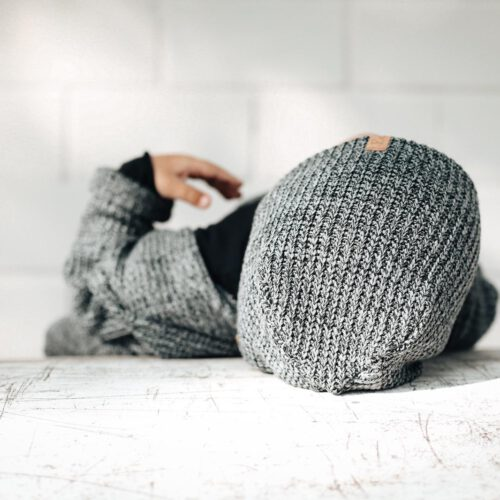 Strick Beanie