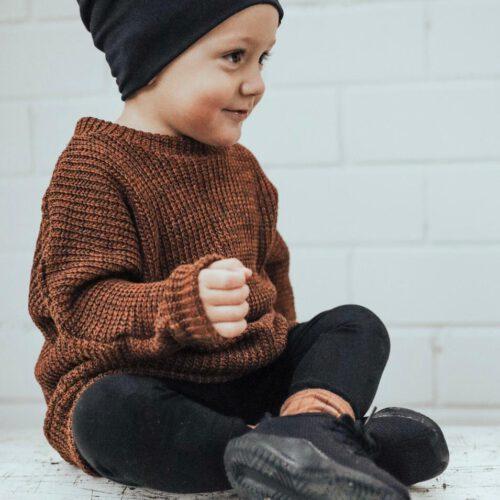 Strick-Pullover Oversize